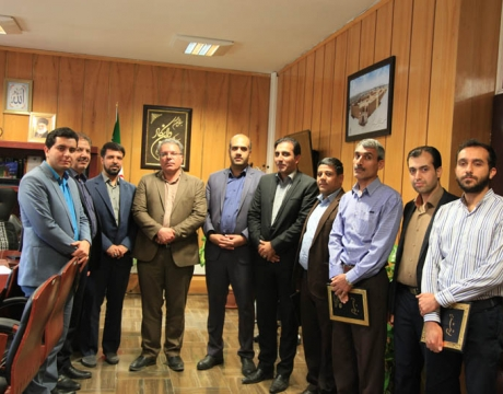 گزارش تصویری / دیدار صمیمی شهردار و رئیس محترم شورای اسلامی شهر مبارکه با پرسنل مجموعه روابط عمومی