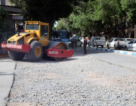 گزارش تصویری / اصلاح پل در میدان شهدای قاصر