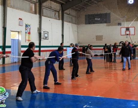 گزارش تصویری/برگزاری مسابقات ورزشی ویژه پرسنل شهرداری مبارکه به مناسبت دهه مبارک فجر