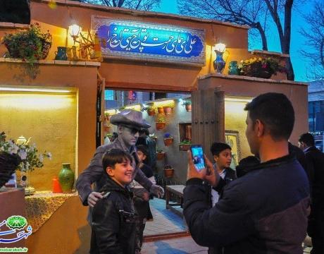 گزارش تصویری | ویژه برنامه شب عید جشنواره فرهنگی هنری نوبهار |دومین روز از جشنواره |با استقبال باشکوه شهروندان
