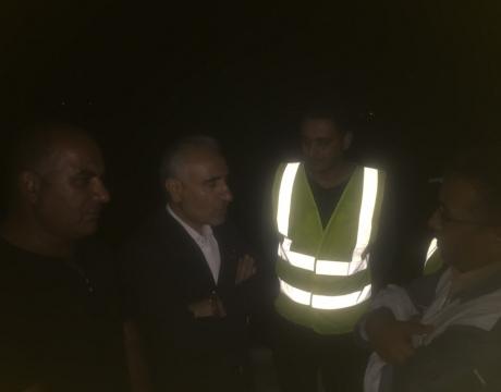 گزارش تصویری / اعزام نیروی انسانی و تجهیزات کمک رسانی شهرداری مبارکه به مناطق سیل زده - اهواز