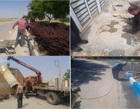 گزارش تصویری / روایت تلاش در حوزه خدمات شهری شهرداری مبارکه