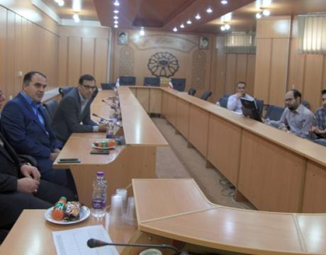 گزارش خبری/برگزاری جلسات بررسی و تهیه پیوست حمل و نقل طرح جامع شهر مبارکه
