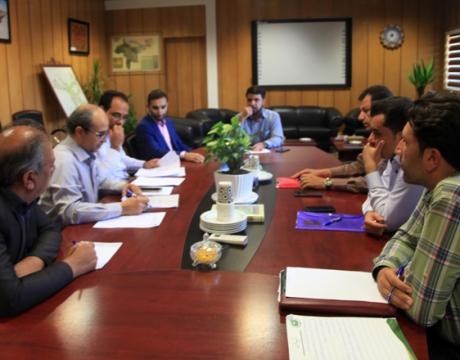 گزارش تصویری / جلسه کمیته پیشگیری وکنترل کم آبی در شهرداری مبارکه برگزار شد