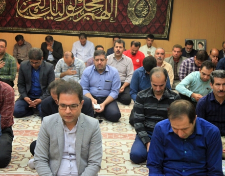 گزارش تصویری / برگزاری مراسم زیارت عاشورا به همت پایگاه مقاومت بسیج امام حسین (ع) شهرداری مبارکه
