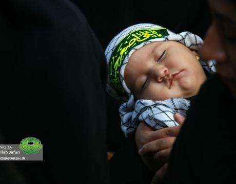 گزارش تصویری / همایش شیرخوارگان حسینی در پارک نقاشباشی محله دهنو