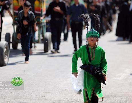 گزارش تصویری / مراسم عزاداری عاشورای حسینی / مبارکه / 1398