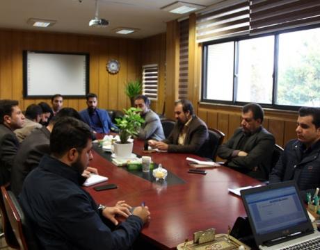 گزارش تصویری/ آبان 1398/جلسه ستاد مدیریت بحران شهرداری مبارکه برگزار شد