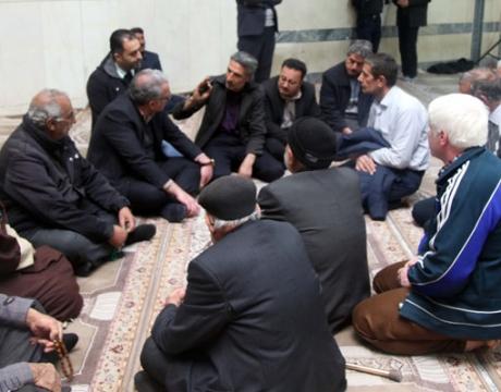 گزارش تصویری / دیدار مردمی شهردار مباركه در مسجد محمد باقر(ع) به مناسبت دهه مبارک فجر
