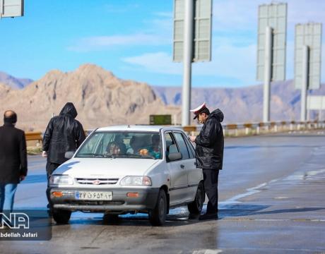 گزارش تصویری /اجرای طرح فاصله گذاری اجتماعی در مبارکه