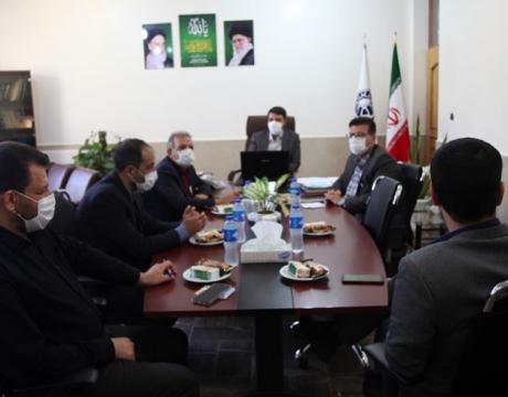 جلسه کمیته نظارت بر پروتکل های بهداشتی کارکنان شهرداری مبارکه برگزار شد