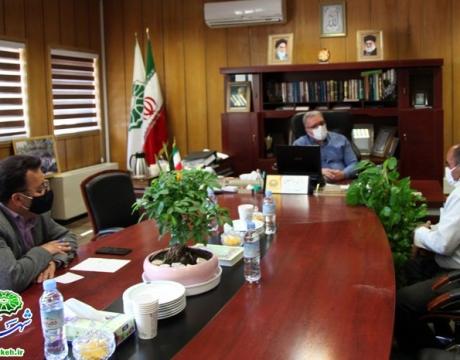 ملاقات مردمی مهندس هاشمی شهردار مبارکه با شهروندان- 13 مردادماه