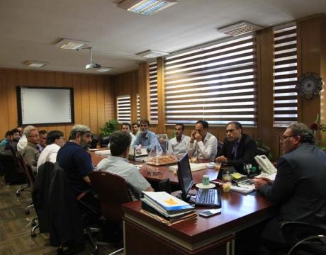 دیدار هیأت رئیسه اتاق اصناف شهرستان با شهردار مبارکه به مناسبت 14 تیرماه روز شهرداری ها