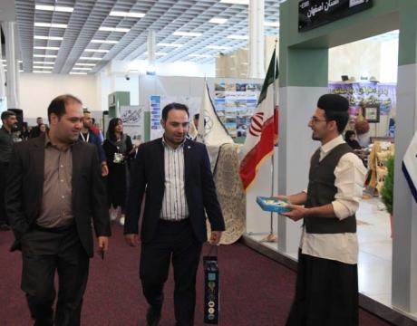 گزارش تصویری/دومین روز حضور شهرداری مبارکه در نمایشگاه بین المللی شهر گردشگر