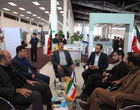 گزارش تصویری /سومین روز حضور شهرداری مبارکه در نمایشگاه بین المللی شهر گردشگر