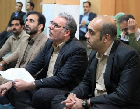 گزارش تصویری/دیدار مردمی شهردار و اعضای شورای اسلامی شهر مبارکه در مسجد النبی (ص) محله قلعه
