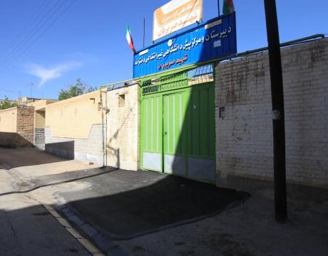 روایت تلاش در حوزه عمرانی/لکه گیری آسفالت و ترمیم ترانشه های خیابان حافظ