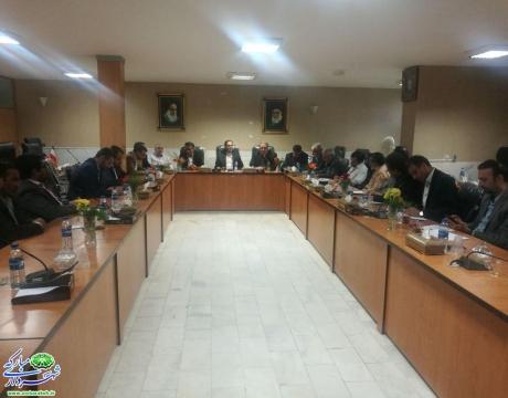 گزارش تصویری/ جلسه هم اندیشی و تبادل نظر  شهرداران جنوب غرب استان در شهرستان شهرضا برگزار شد