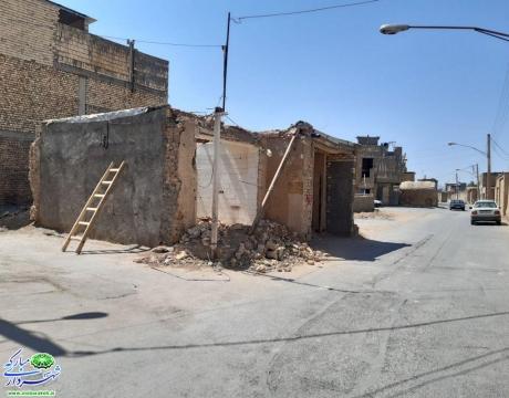 روایتی از اقدام و تلاش / هفتمین آزاد سازی طرح تعریض خیابان شهید اصغر ضیایی در محله قهنویه