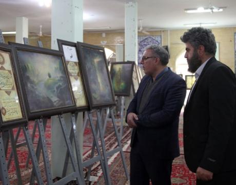 گزارش تصویری/ بازدید شهردار مبارکه از نمایشگاه قرآنی رستاخیز در مجتمع فرهنگی الزهرا (س) مبارکه