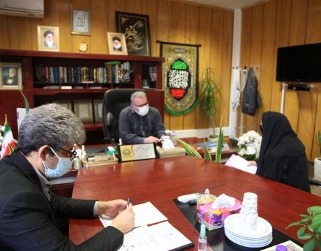 ملاقات مردمی شهردار مبارکه 29دیماه سال1399