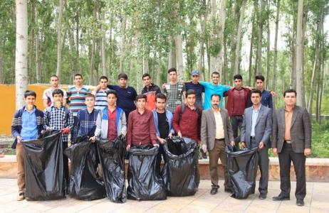 گزارش تصویری /کمپین نه به زباله به مناسبت روز زمین پاک