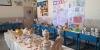 نمایشگاه آثار هنرهای دستی دانش آموزان مدرسه معلم / علیرضا باقریان- محمد طاها فروغی