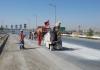 عملیات اجرایی شیار زنی در نقاط حادثه خیز شهر مبارکه