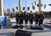 مراسم غبار روبی و عطر افشانی گلزار شهدای گمنام صفائیه به مناسبت هفته ناجا برگزار شد