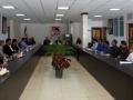 گزارش تصویری/دیدار شهردار ،رئیس و اعضای شورای اسلامی شهر مبارکه با هیئت رئیسه اتاق اصناف شهرستان