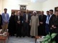 گزارش تصویری/دیدار شهردار ،رئیس و اعضای شورای اسلامی شهر مبارکه با دادستان شهرستان به مناسبت هفته قوه قضائیه