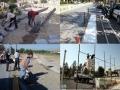 اجرای بیش از 350  عملیات رفع نواقص و ایرادات معابر و اماكن عمومی