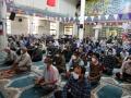 برپایی میز خدمت شهرداری مبارکه در مصلی نماز جمعه شهر مبارکه به مناسبت هفته گرامیداشت نماز جمعه