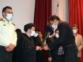 آیین تجلیل از آتش نشانان شهرداری مبارکه