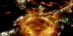 ببینید/ مراسم نورافشانی آسمان شهر مبارکه به مناسبت میلاد حضرت صاحب الزمان(عج)