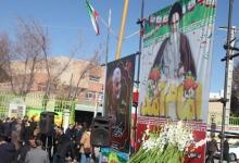 گزارش تصویری / آیین گلباران تمثال مبارک حضرت امام خمینی (ره) با حضور مسئولین و مردم شهید پرور شهر مبارکه