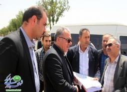گزارش تصویری /بازدید مدیرکل راه و شهرسازی استان از شهر مبارکه در راستای بررسی…