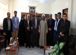 گزارش تصویری/دیدار شهردار ،رئیس و اعضای شورای اسلامی شهر مبارکه با دادستان…