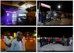 گزارش تصویری / طرح ضدعفونی شبانه شهر مبارکه از ۲۲ اسفند ماه ۹۸با 30 اکیپ مردمی…