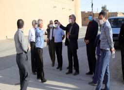 بازدید شهردار ،رئیس و اعضای شورای اسلامی شهر مبارکه از محلات و بخش های مختلف…