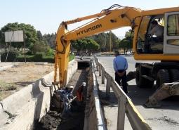 اقدامات اصلاحی و پیشگیرانه ستاد بحران در سطح شهر مبارکه در حال انجام است