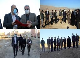 بازدید از پروژههای عمرانی شهرداری مبارکه /همت و تلاش مدیریت شهری در راستای رشد و توسعه شهر