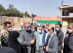 گزارش تصویری / بازدید مسئولان شهرستان از روند فعالیتهای عمرانی حسینیه مرکزی…