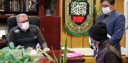 ملاقات مردمی شهردار مبارکه با شهروندان- 15 دیماه 1399