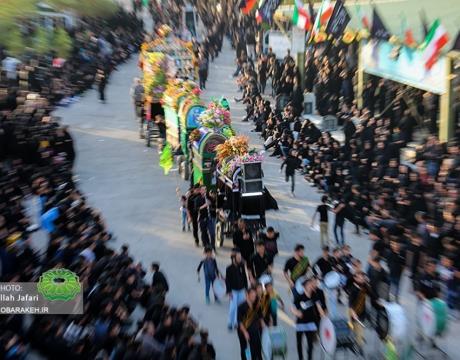 گزارش تصویری /مراسم عزاداري روز تاسوعا در شهر مباركه-1398