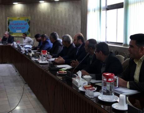 گزارش تصویری / جلسه ستاد بازآفرینی پایدار شهری شهرستان مبارکه با حضور مسئولین  برگزار گردید