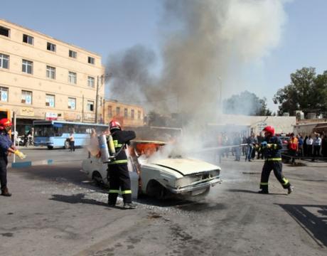 گزارش خبری /برنامه صبحگاه و مانور عملیاتی امداد و نجات سازمان آتش نشانی شهرداری مبارکه