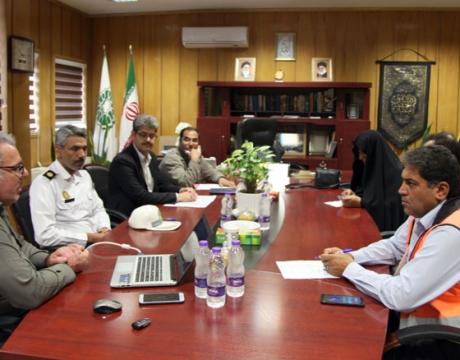 جلسه کمیته ترافیک شهرداری مبارکه با حضور اعضا برگزار شد/ آبان ماه 1398