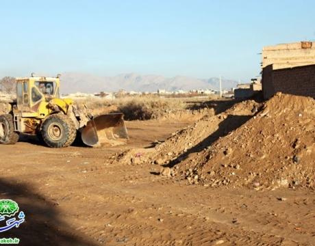 روایت اقدام و تلاش /تملک و آزادسازی 1300 متر زمین در محله قهنویه / جهت احداث زمین چمن مصنوعی