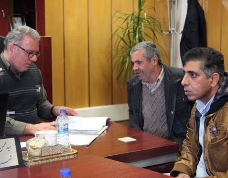 گزارش تصویری/ ملاقات مردمی شهردار مبارکه با شهروندان/ 14 بهمن ماه 1398